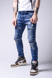 Bleached Distressed Jean - Zzyzx Road Apparel