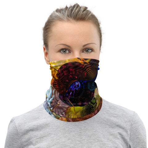 Colorful Glass Neck Gaiter