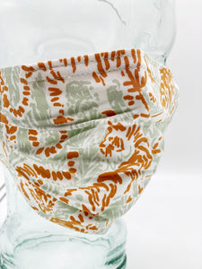 Tiger Print Face Mask by Cat Judice