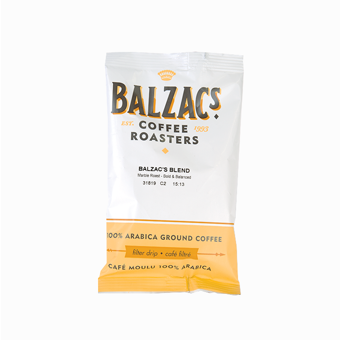 Balzac's Coffee - Balzac's Blend (2.5oz Pre-Ground)
