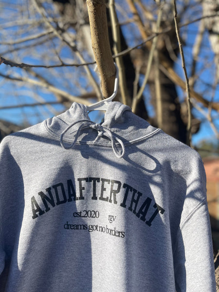 "The ""AAT University"" hoodie."