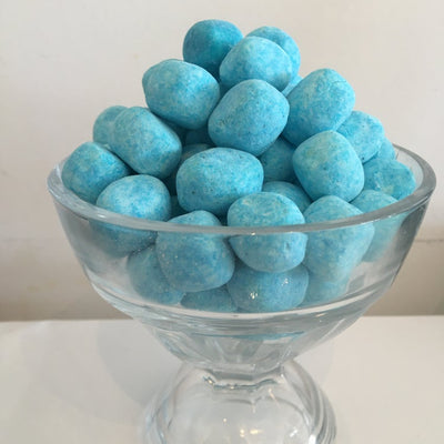 Sour Blue Raspberry Bonbons Chewy