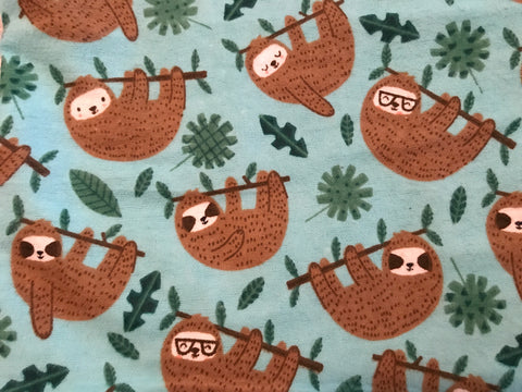 Sloths on Flannel