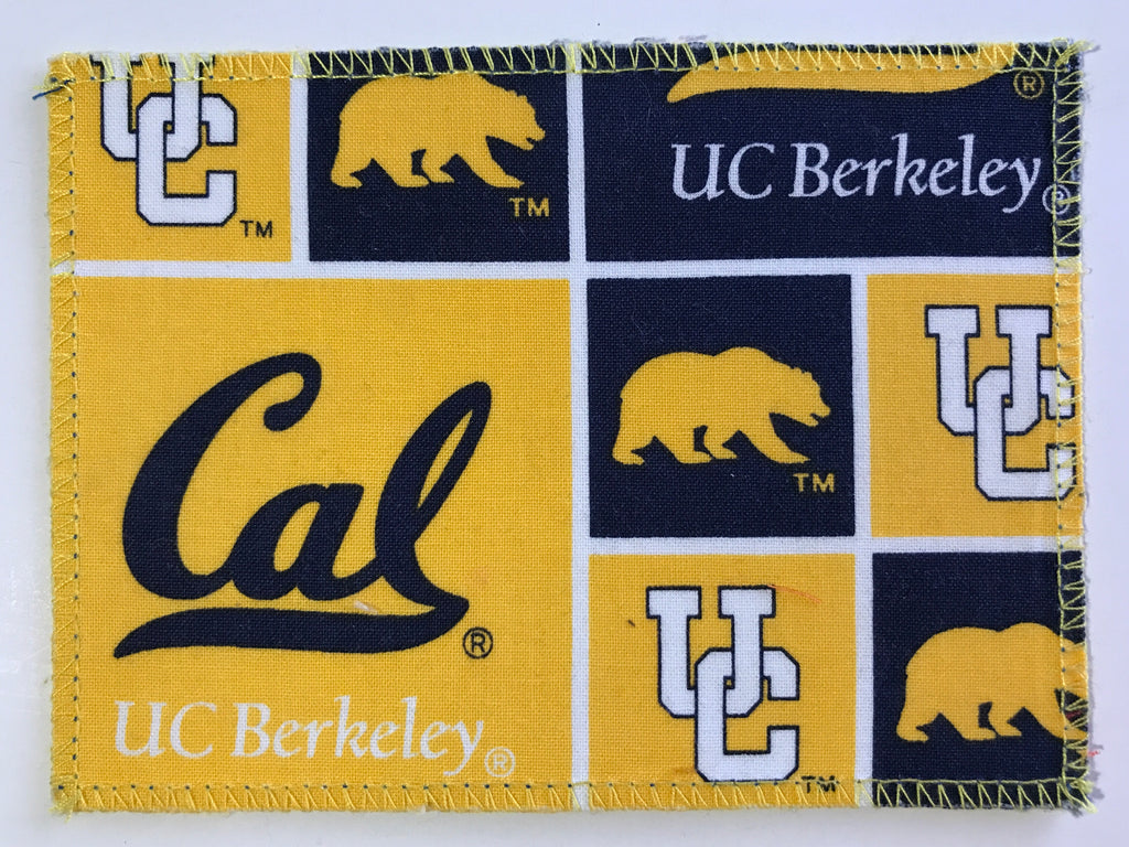 Cal Berkeley Fabric Notecards