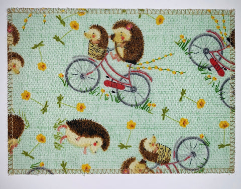 Hedgehogs on Bicycles