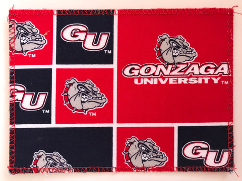 Gonzaga University Fabric Notecards