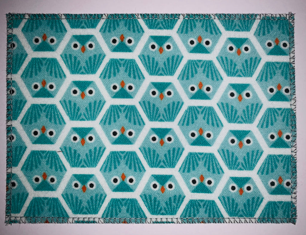 Owls on Flannel