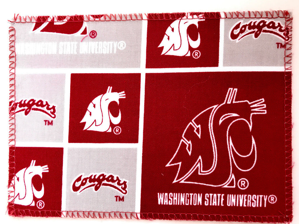 Washington State Cougars Fabric Notecards