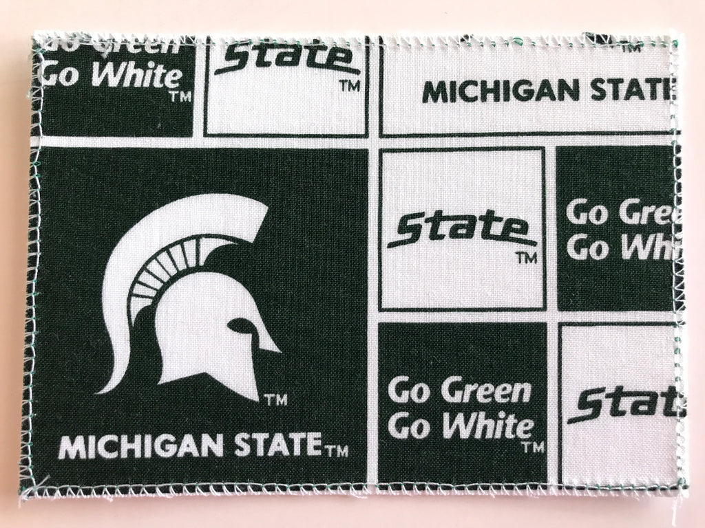 Michigan State Fabric Notecards
