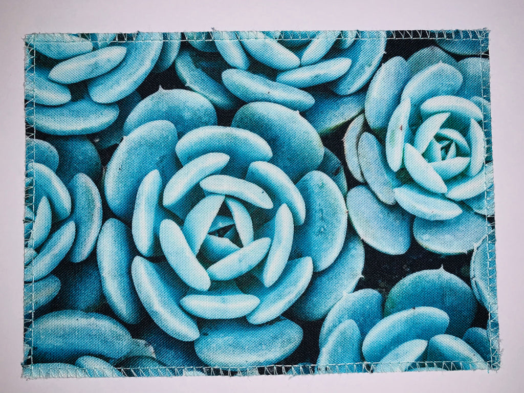 Succulent Photo Fabric