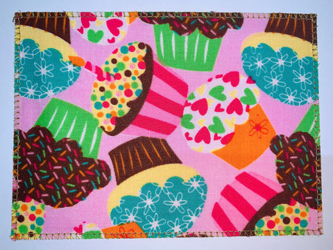 Cupcakes Pink & Green