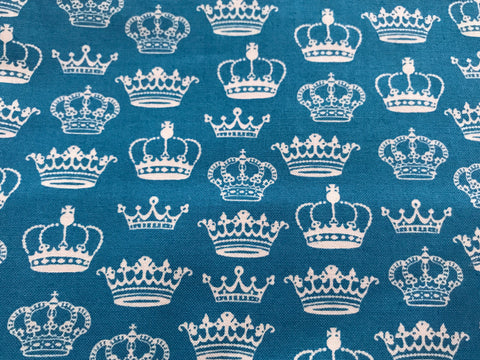 British Crowns on Blue