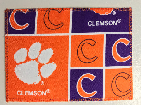 Clemson Fabric Notecards