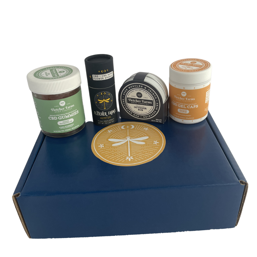 CBD Gift Box - Fletcher Farms Hemp Co.