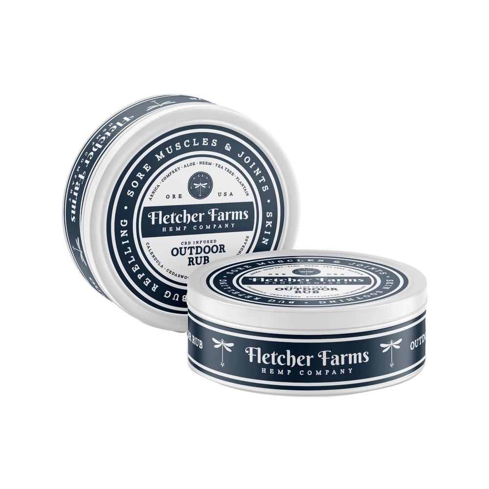All Natural CBD Balm - Outdoor Rub
