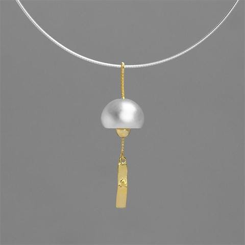 Antality Wind Chime Pendant Necklace