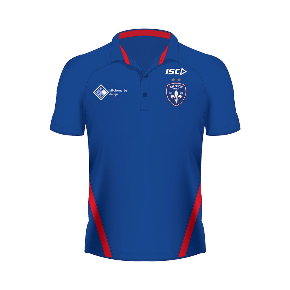 19 ISC Performance Polo - Royal