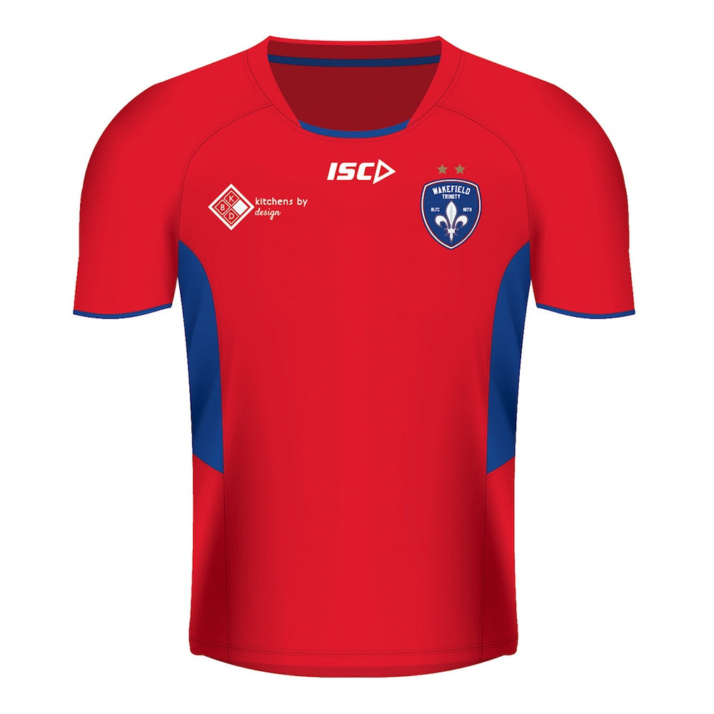 19 ISC Training Tee - Red
