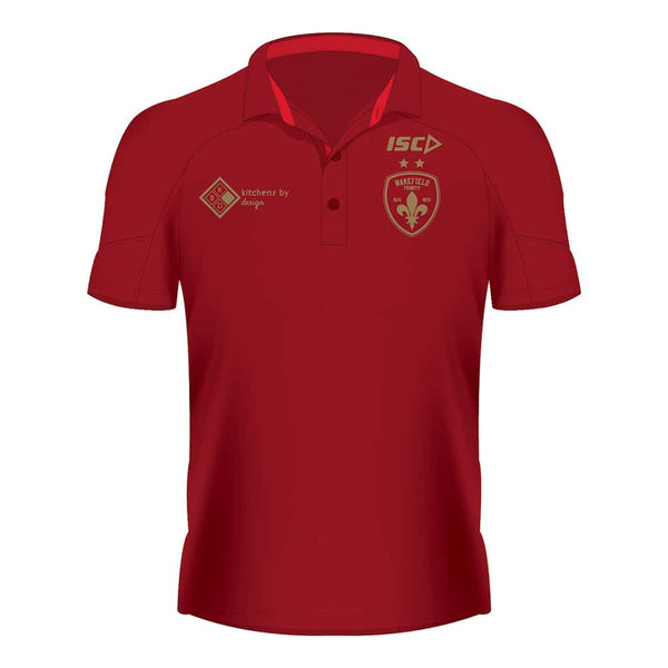 ISC Classic Polo - Drk Red