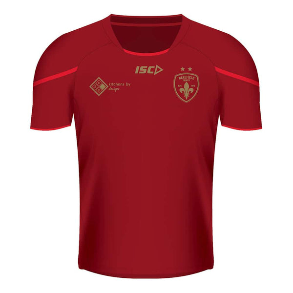 ISC Training Tee - Classic Drk Red