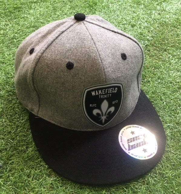 Trinity Grey Snap Back