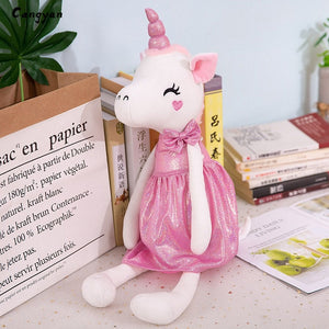Unicorn Plush Cute Doll Pink 45cm - Unicorn in Wonderland