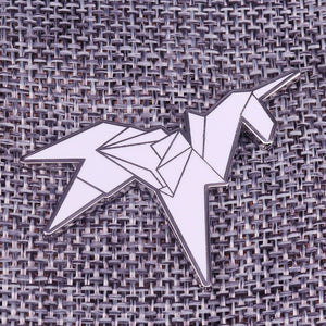 Unicorn Brooch Origami - Unicorn in Wonderland