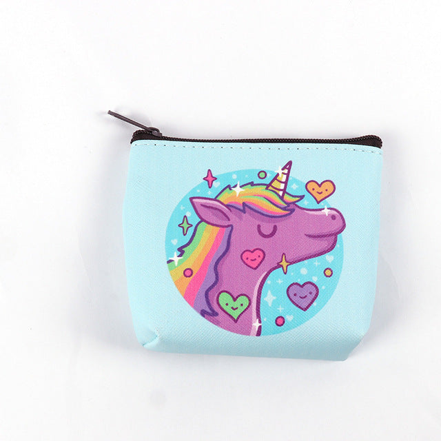 Unicorn Hearts Wallet - Unicorn in Wonderland
