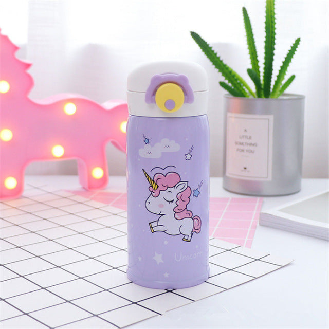 Unicorn Bottle Running Purple 500ml - Unicorn in Wonderland