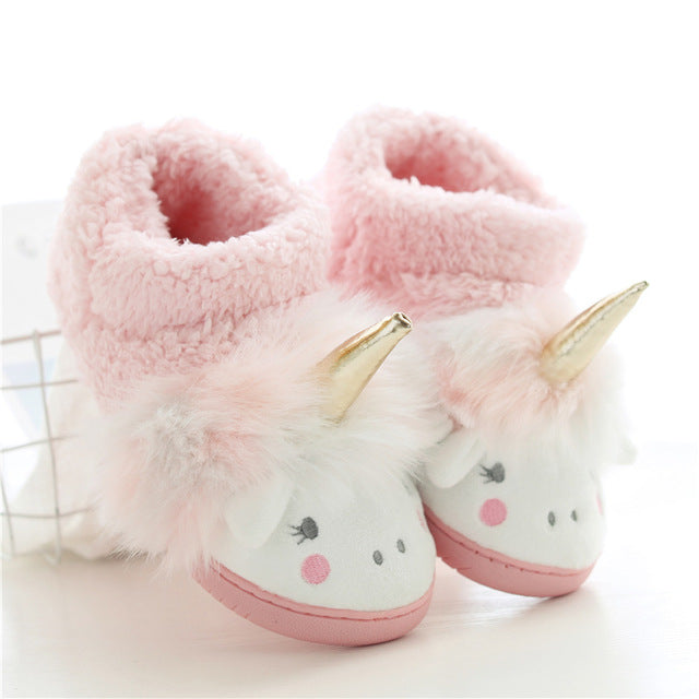 Unicorn Slipper Pink Tall Sheep - Unicorn in Wonderland