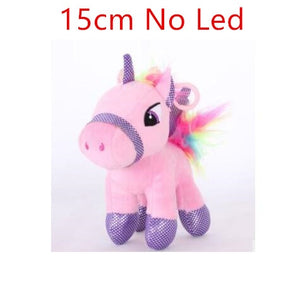 Unicorn Plush Child Rose 15cm - Unicorn in Wonderland