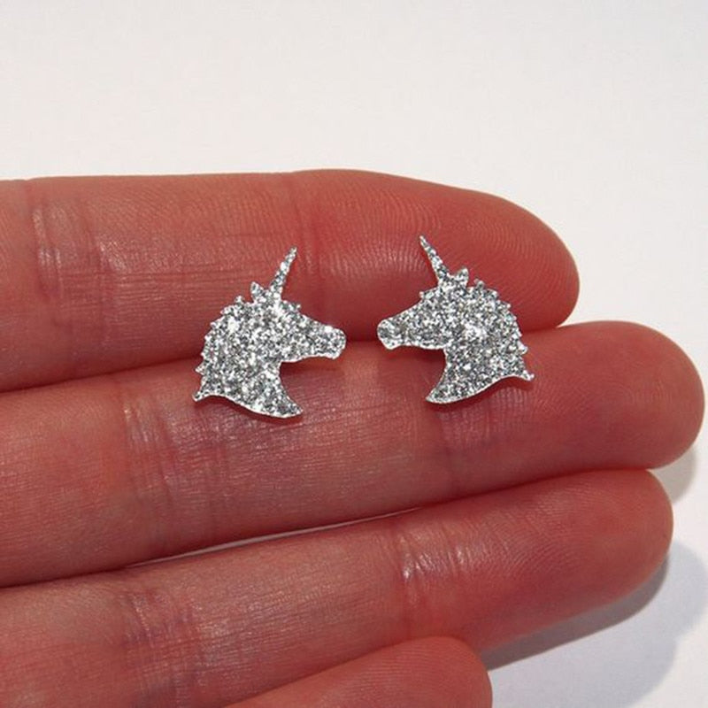 Unicorn Earring Shining - Unicorn in Wonderland