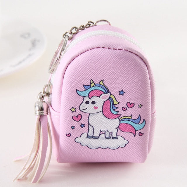 Unicorn Cloud Rose Wallet - Unicorn in Wonderland