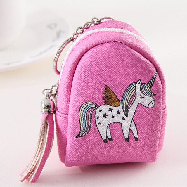 Unicorn Thinking Wallet - Unicorn in Wonderland