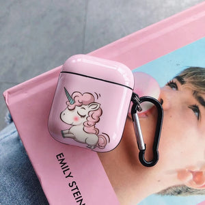 Unicorn Airpod Case Showing Pink - Unicorn in Wonderland