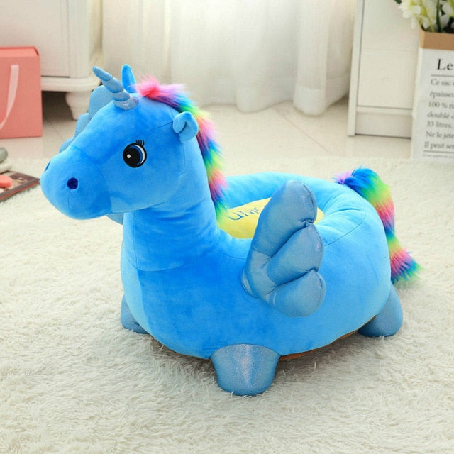 Unicorn Sofa Blue Wings 50cm - Unicorn in Wonderland