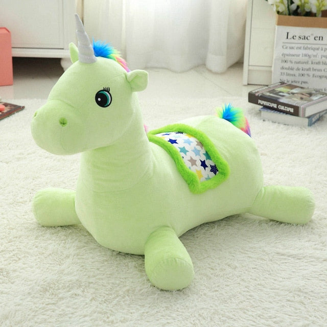 Unicorn Sofa Green 50cm - Unicorn in Wonderland