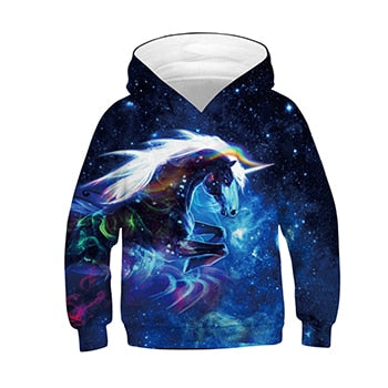 Unicorn Jacket Universe - Unicorn in Wonderland