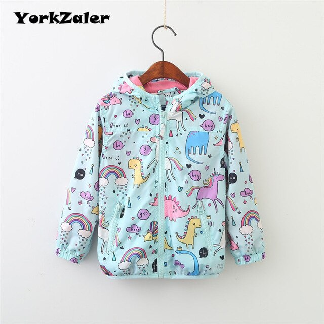 Unicorn Jacket Multi Blue - Unicorn in Wonderland