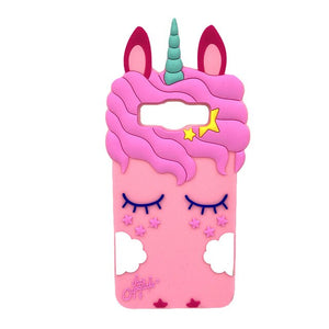 Unicorn Samsung Case Pink - Unicorn in Wonderland