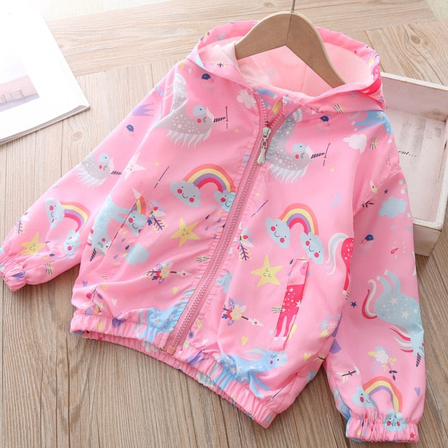 Unicorn Jacket Sky Pink - Unicorn in Wonderland