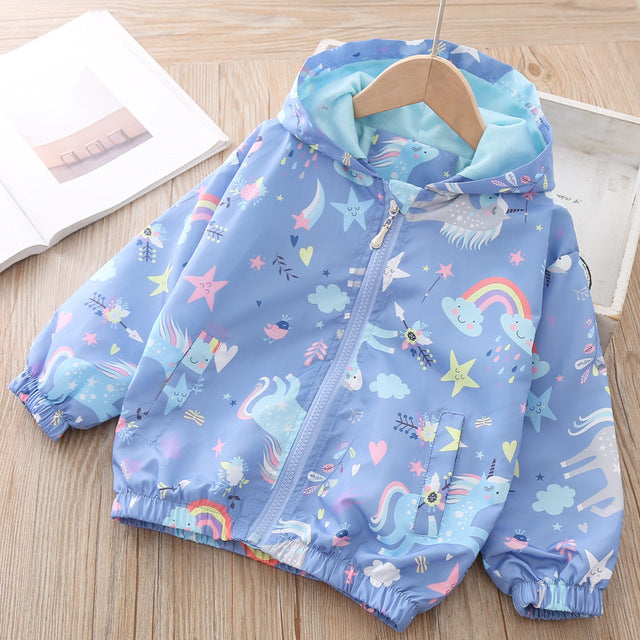 Unicorn Jacket Sky Blue - Unicorn in Wonderland