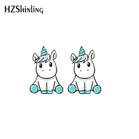 Unicorn Earring Sit - Unicorn in Wonderland