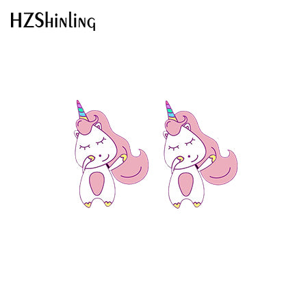Unicorn Earring Dancing - Unicorn in Wonderland