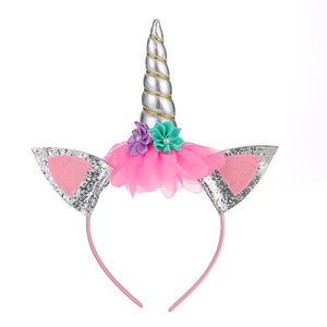 Unicorn Headband White Horn - Unicorn in Wonderland