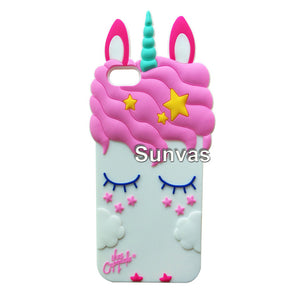 Unicorn Iphone Case Cute Blue - Unicorn in Wonderland