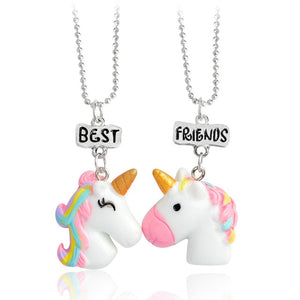 Unicorn Necklace Best Friends - Unicorn in Wonderland