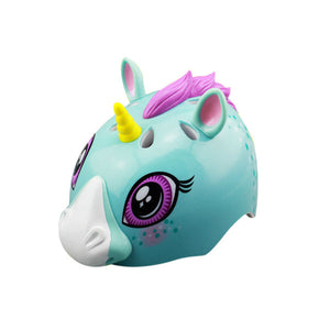 Unicorn Helmet Blue - Unicorn in Wonderland