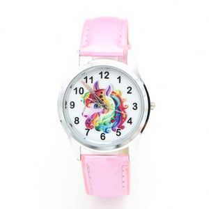 Unicorn Watch Rainbow Hair Pink - Unicorn in Wonderland