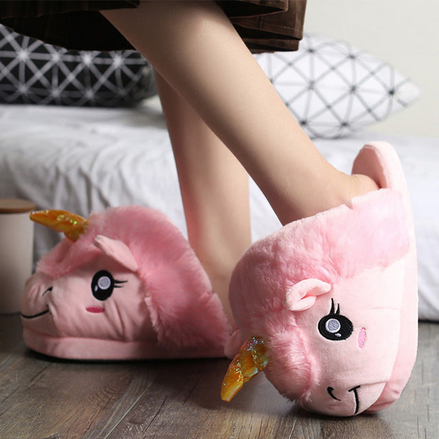 Unicorn Slipper Pink Sheep - Unicorn in Wonderland